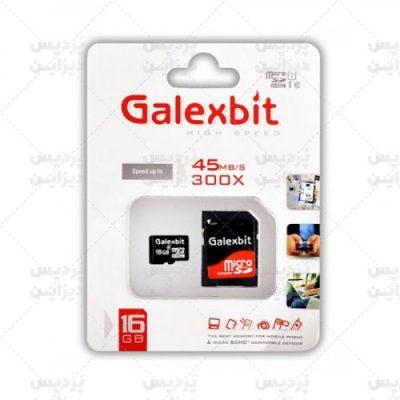 کارت حافظه میکرو اس دی 8 گیگابایت Galexbit 300x UHS-l U1