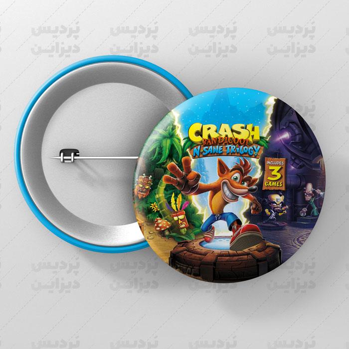 پیکسل طرح Crash